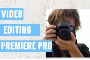 Portfolio for Video Editing with Adobe Premiere pro