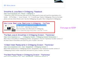 Portfolio for Google Top Ranking