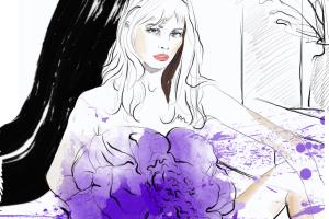 Portfolio for Fashion and beauty illustrator