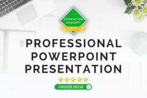 Portfolio for Professional PowerPoint Presentations