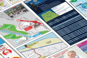 Portfolio for Infographics: Print or Online
