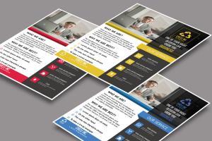 Portfolio for I will design unique flyer or brochure