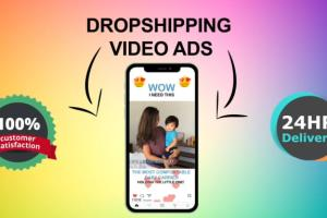Portfolio for I will create shopify facebook video ads