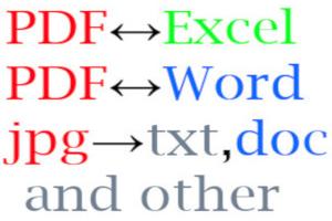 Portfolio for PDF Conversion and Transfer Data