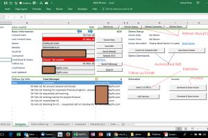 Portfolio for Excel Automation - Using Macros or VBA