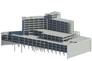 Portfolio for Revit, Naviswork, Shopdrawing, 3D Model