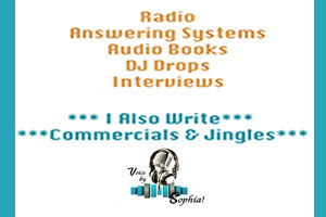Portfolio for Voice Overs - Radio, TV, Web, Apps, Game