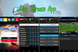 Portfolio for Live streaming app (ios and android)