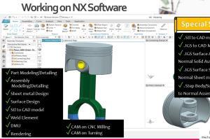 Portfolio for CAD on Siemens NX