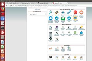 Portfolio for Software Installation cPanel