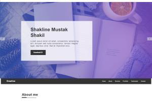 Portfolio for I will convert psd to HTML responsive