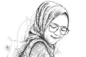 Portfolio for Portrait Scribble Art and Illustration
