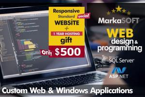 Portfolio for Custom Web And Desktop Software