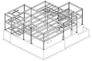 Portfolio for Stee shop drawings detailing & drafting