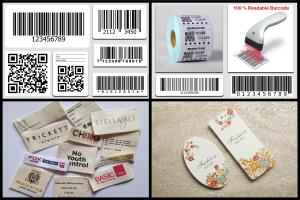 Portfolio for Barcode, Hang Tag, Pric Tag, Care Label