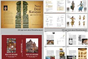 Portfolio for Book, magazine, presentation designer