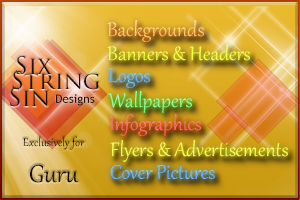 Portfolio for Create backgrounds, banners, cover art,