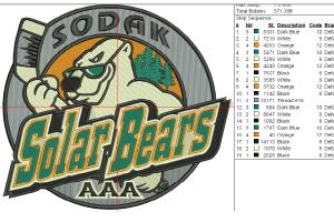 Portfolio for embroidery logo digitizing