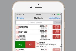 Portfolio for Stock Master