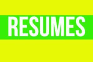 Portfolio for Resume/Cover Letters