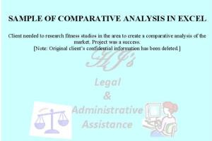 Portfolio for Virtual Executive/Admin. Assistance