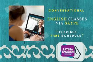 Portfolio for FATIMA ENGLISH VIA SKYPE