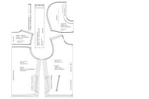 Portfolio for Pattern Maker, Technical Designer
