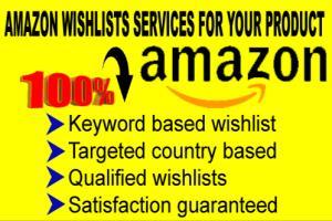 Portfolio for 400 wishlist for amazon product ranking
