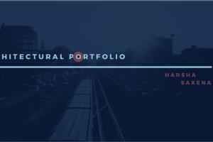 Portfolio for Architectural Planning / Drawings