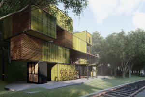 Portfolio for Architecture and Landscape visualization