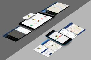 Portfolio for Taxi Booking: iOS, Andrid and Web