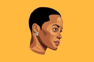 Portfolio for Vector Portrait Drawing