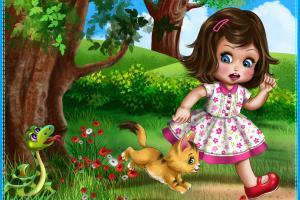 Children Book Illustraton-2D Pixel Style