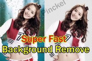 Portfolio for Super fast Background remove