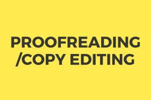 Portfolio for Proofreading