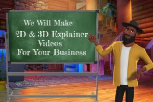 Portfolio for Create  2D & 3D Animated Explainer Video