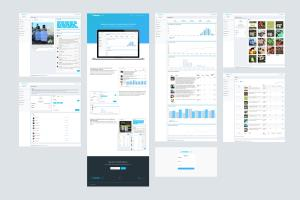 Portfolio for Chompsocial - Website