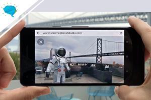 Portfolio for WebSite AR VR | Augmented Reality