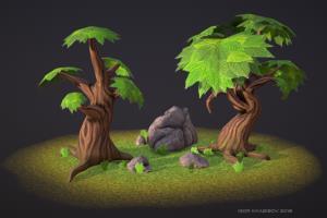 Portfolio for 3D Artist, 3D Generalist, 3D Sculptor