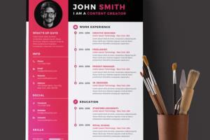 Portfolio for Professional Resume, CV, LinkedInProfile