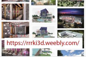 Portfolio for Architectural/Interior Design Rendering