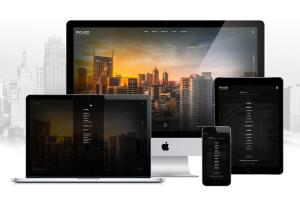 Portfolio for Modern responsive website design