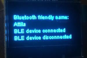 Portfolio for Bluetooth development