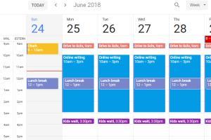 Portfolio for Calendar Management