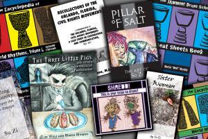Portfolio for Graphic Design, Book Design and Layout