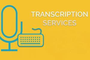 Portfolio for Transcription Services