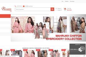 Portfolio for Custom E-Commerce website Design