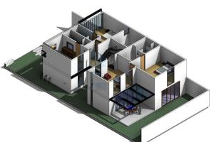 Portfolio for Revit BIM Modeling