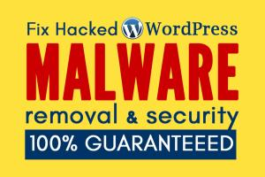 Portfolio for Fix Wordpress Hacked Website + Security