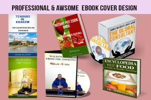 Portfolio for I design professional  ebook cover